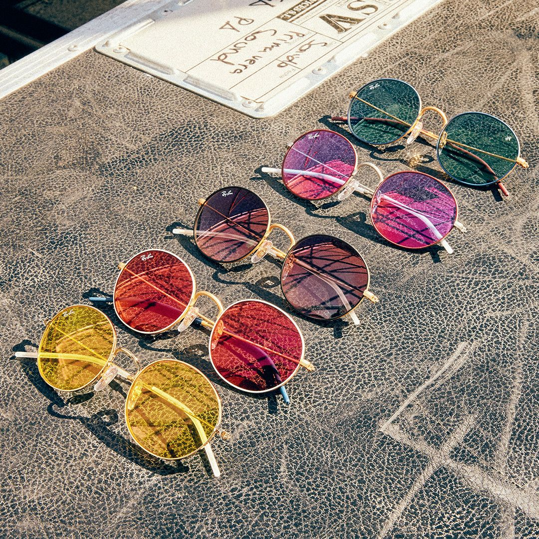Discover Ray-Ban Beat, the frames dedicated to Summer and festival-goers 3fffc0a512