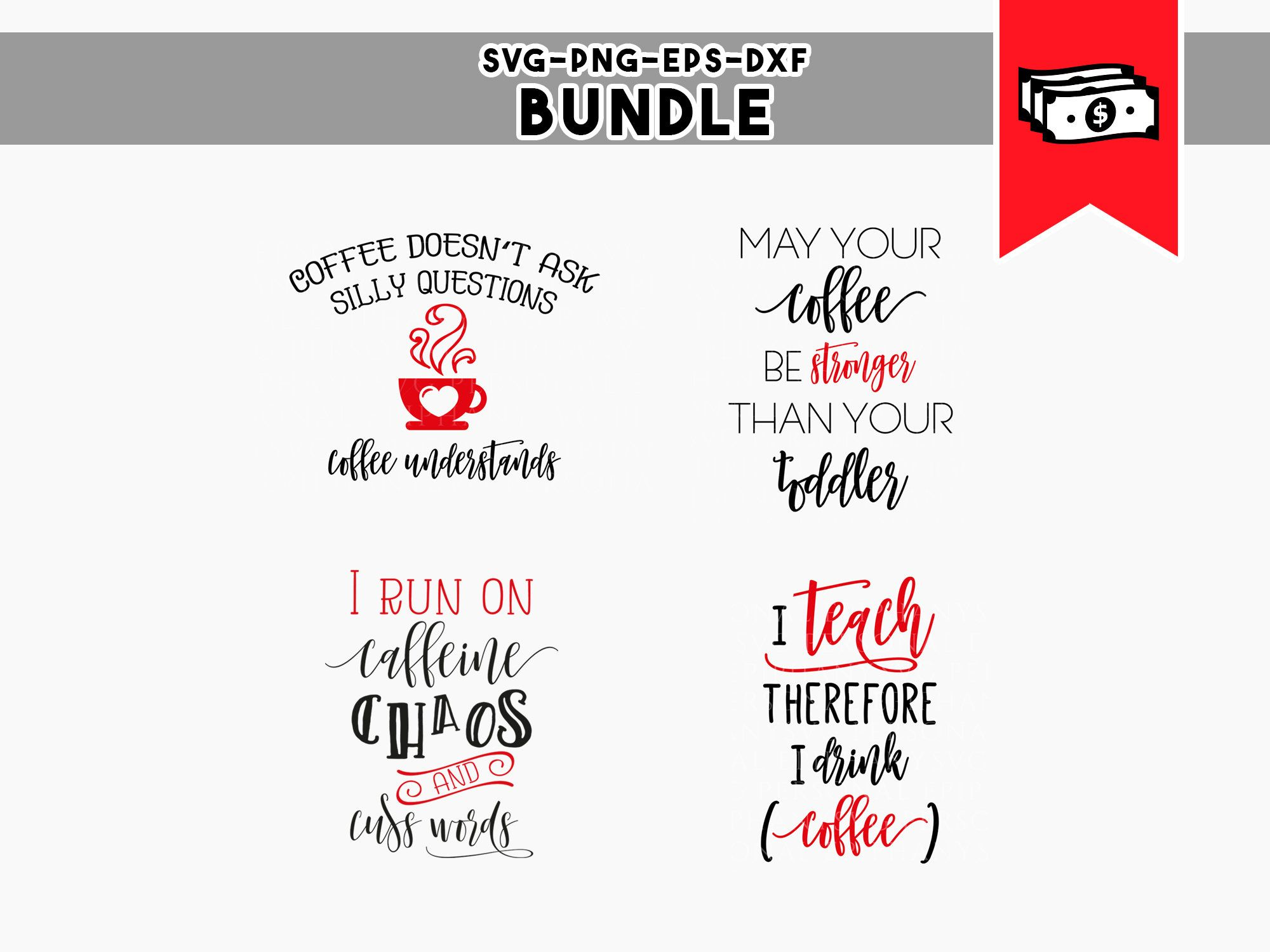Commercial Quotes Coffee Quotes Coffee Mug Svg Coffee Svg Bundle Vinyl Cut Files