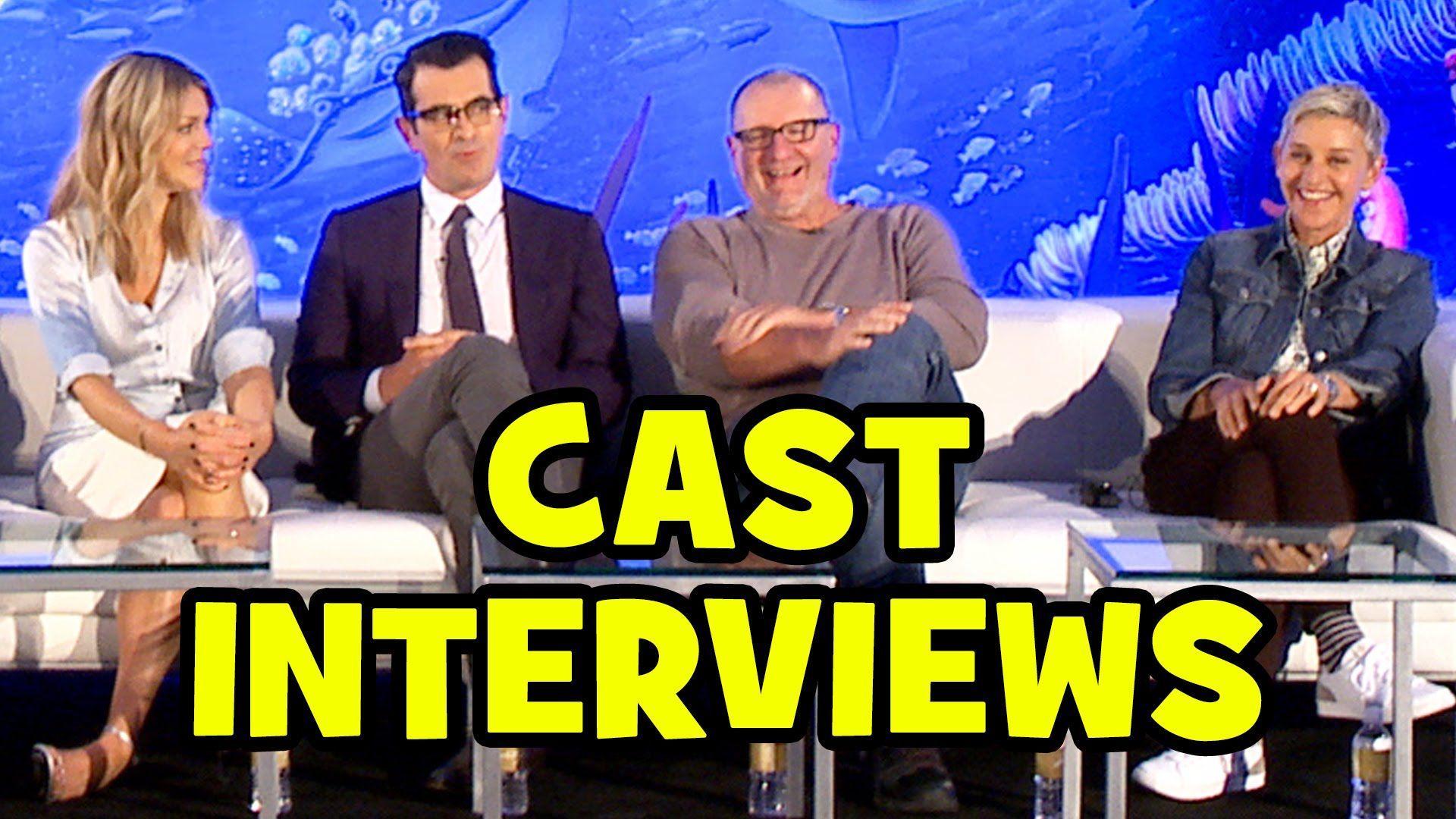 FINDING DORY Full PRESS CONFERENCE - Ellen DeGeneres, Ed O'Neill, Kaitli...