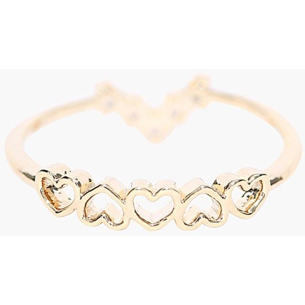 Necessary Clothing I So Heart That Two For One Ring ($7.99) ❤ liked on Polyvore featuring jewelry, rings, gold, heart ring, gold heart shaped ring, gold twist ring, gold heart ring and glitter jewelry