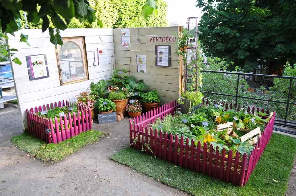 potager en carr ou en pots pour petits espaces jardiner. Black Bedroom Furniture Sets. Home Design Ideas