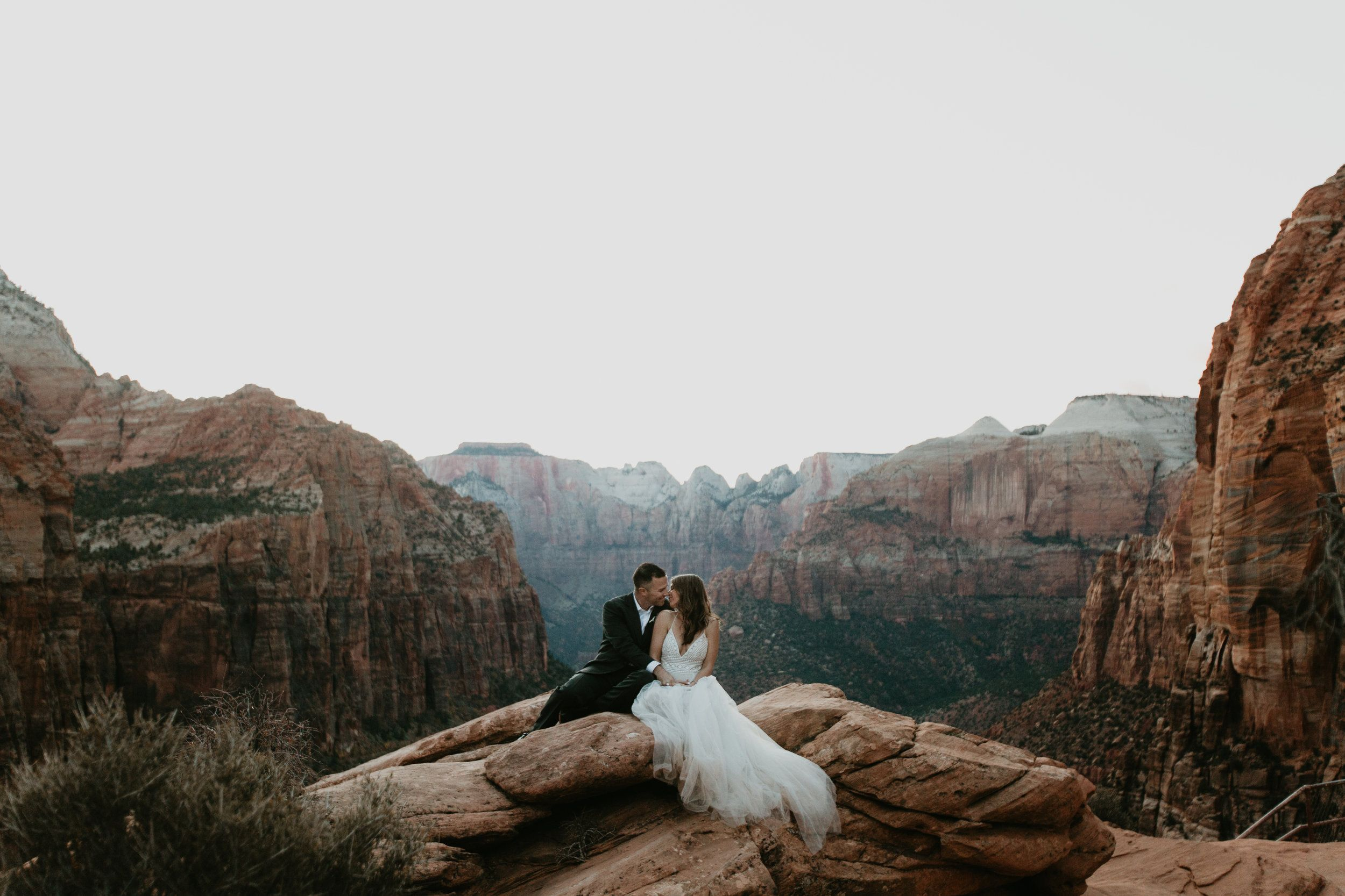 Elopement In Zion National Park In Southern Utah Adventure Wedding Photography Nicole Daacke Photography Adventure Elopements Intimate Destination Weddi Adventure Wedding Photography Utah Wedding Photography Adventure Wedding