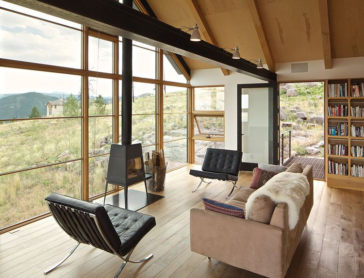 Sustainable Retreat on a Fire-Devastated Site in Boulder | America ...