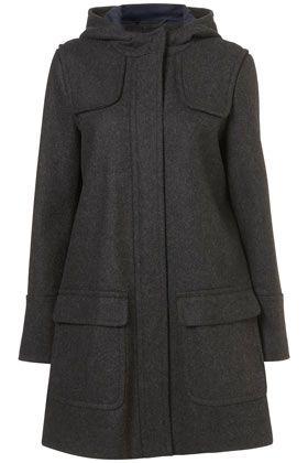 Short Slim Fit Duffle Coat FC