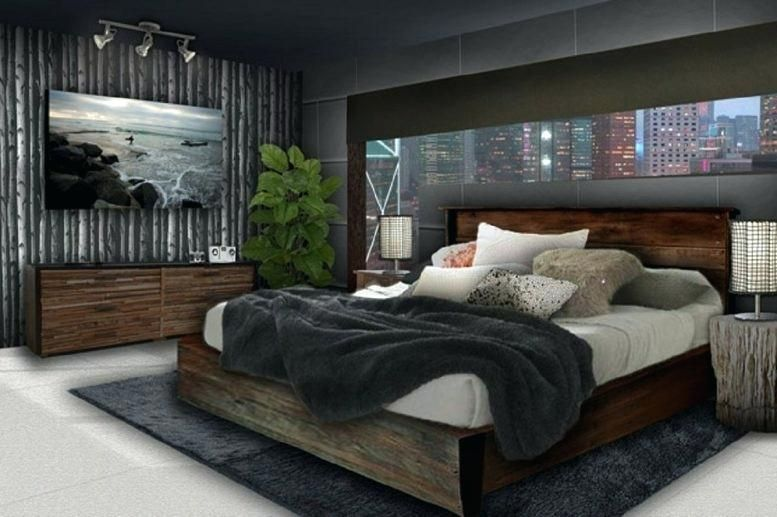 Men Bedroom Sets Regarding Young Man Bedroom Furniture Black ...