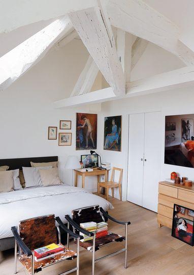Appartement Design Paris Au Dernier Etage Appartement Design Appartement Et Appartement Blanc