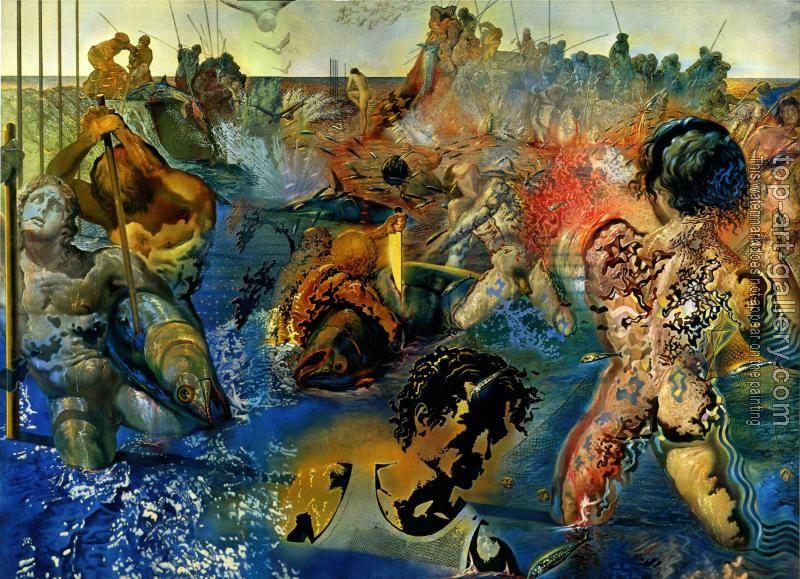 Salvador Dali : Tuna Fishing | oil painting reproductions ...