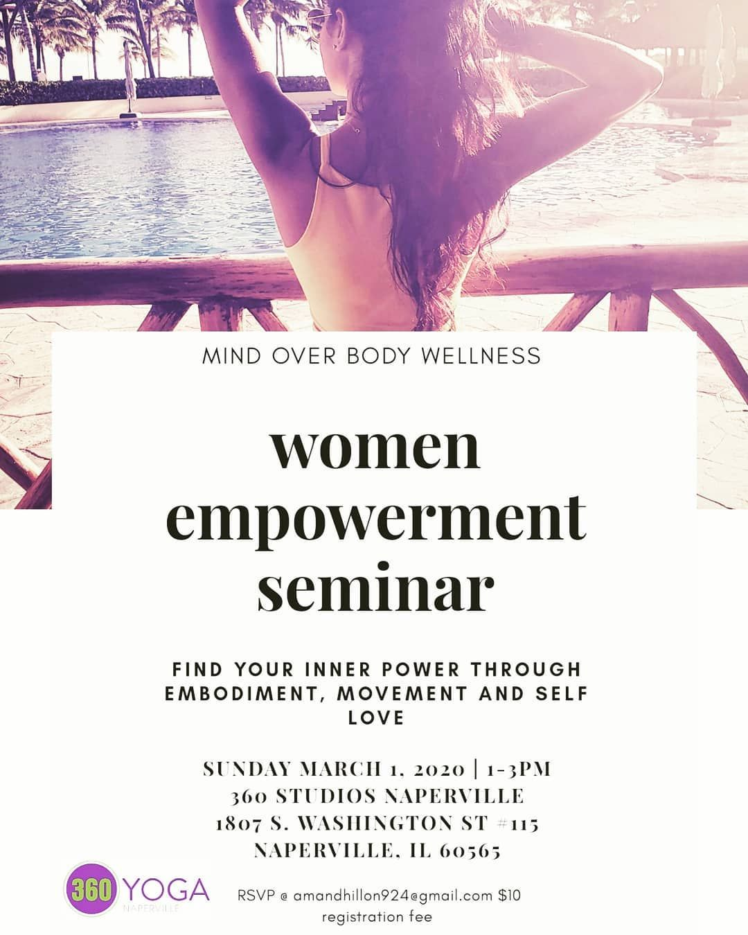 Im so excited about my seminar coming up Its March 1st in the Chicagoland Area Through movement and meditation we will explore the 3 female personas  the goddess inner ch...