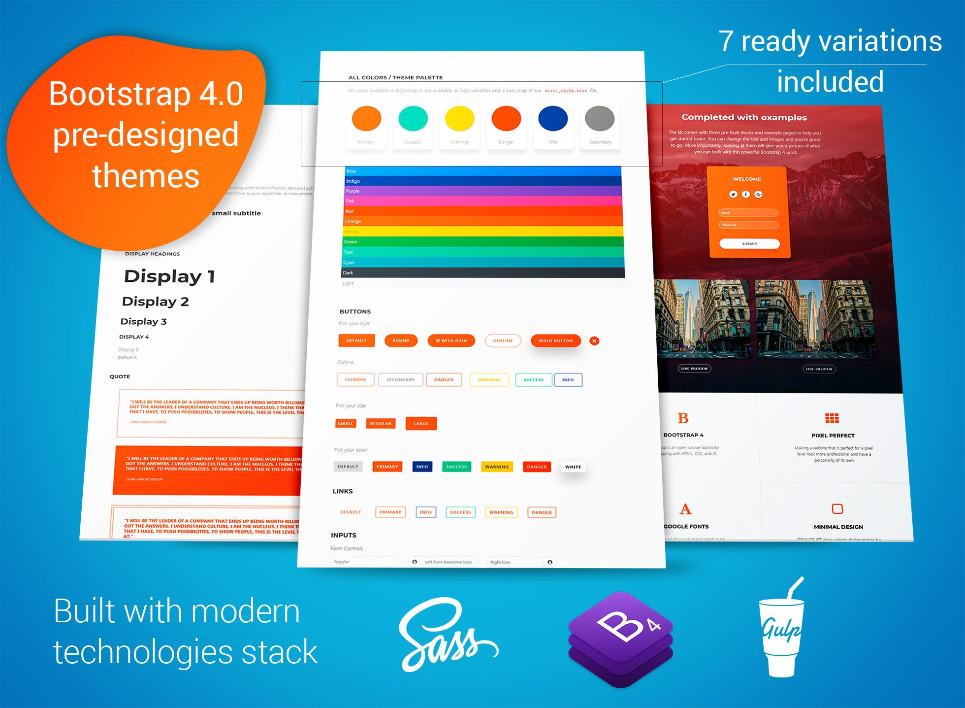 Free Bootstrap Themes Templates Snippets Builders And Guides Blueprint App Templates Bootstrap Template
