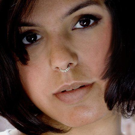 Faux Septum Ring Silver Septum Piercing Fake Septum Jewelry Etsy