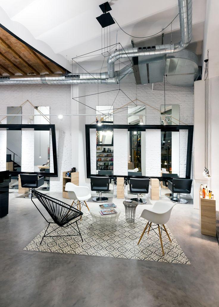 intuitive futuristic hairdresser shop interior design / #shop | hairsalon |  Pinterest | Shop interior design, Design shop and Interiors