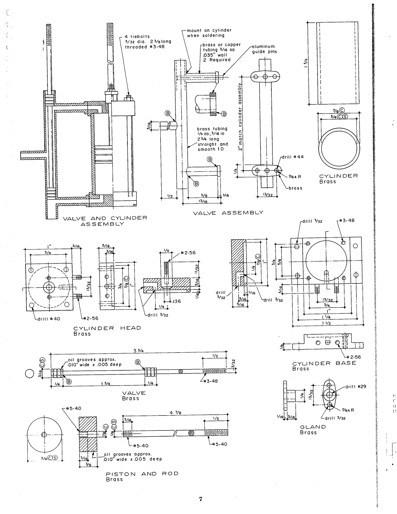 V8 Engines Blueprints