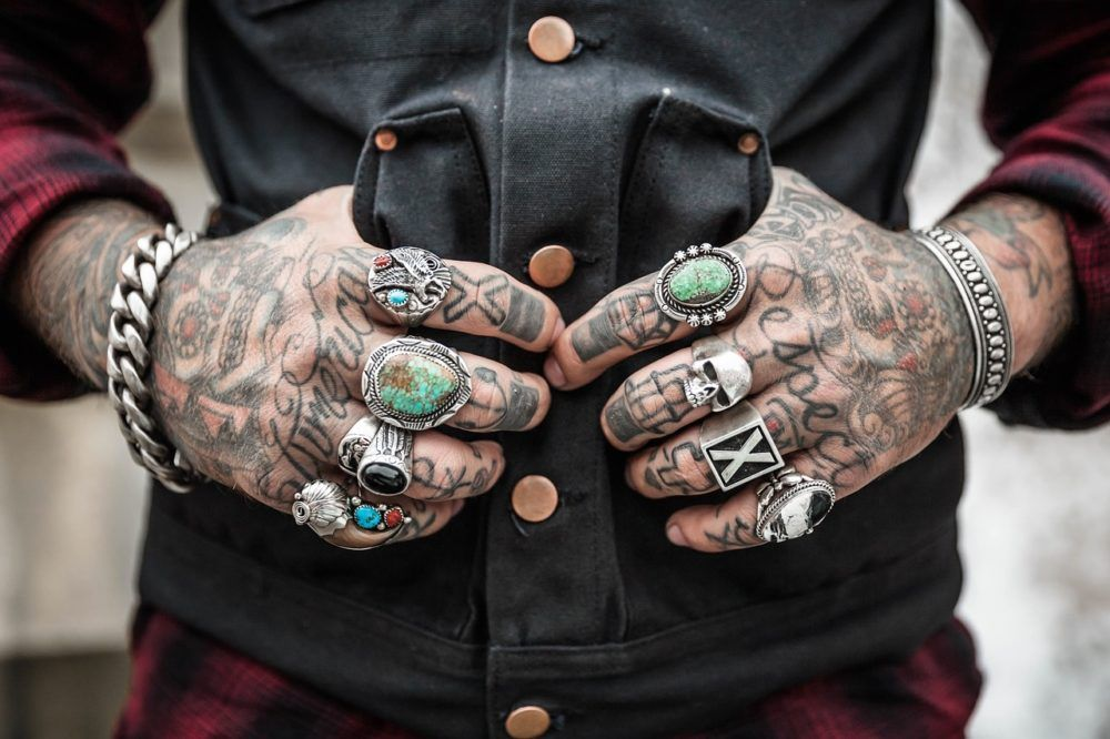 Like if you are Excited! Oh Yeah #hands #tattoos #rings