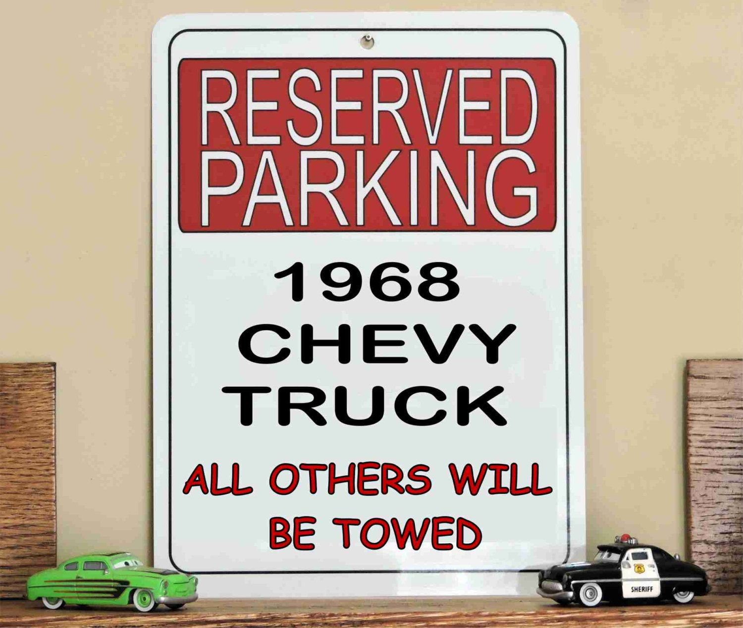 "9 "" x   12 "" #Metal Reserved Parking Only #Sign, 1968 #Chevrolet Chevy ,  View more on the LINK: 	http://www.zeppy.io/product/gb/3/259996743/"