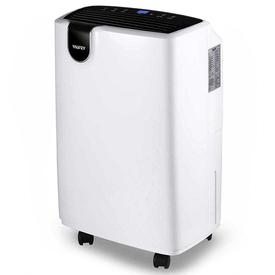 Yaufey 30 Pint Dehumidifier For Home Basements Bedroom Garage 4 Gallons Day Working Capacity With 0 47 Dehumidifier Basement Dehumidifiers Basement Bedrooms