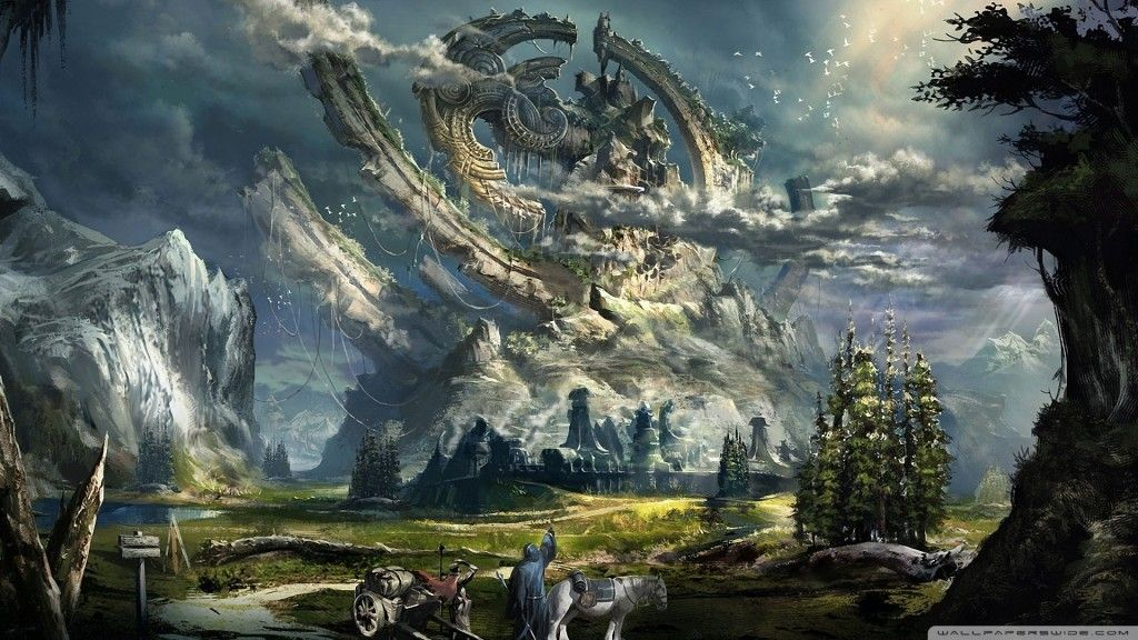 High Def Fantasy Wallpapers Yahoo Image Search Results Fantasy Landscape Landscape Wallpaper Scenery Wallpaper