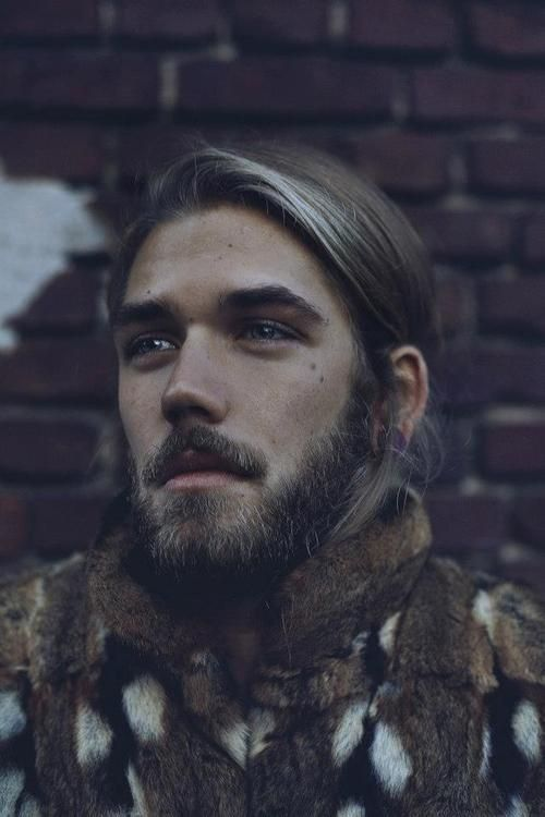 Ben Dahlhaus May Be The Most Beautiful Specimen I Have Ever Discovered Long Hair Styles Men Thick Beard Long Hair Styles