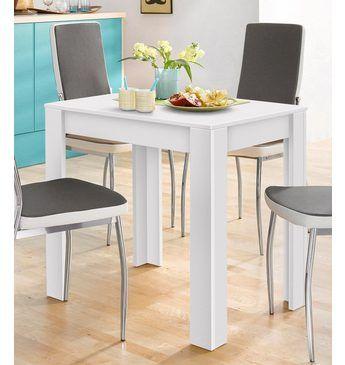 Esstisch, Breite 80\/110\/120 cm mit Auszug Eß-Tische (rustikal - küchentisch mit stühlen