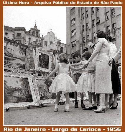 Cotidiano Carioca dos anos 1950: Relembrando o Largo da Carioca em 1956 - Parte II