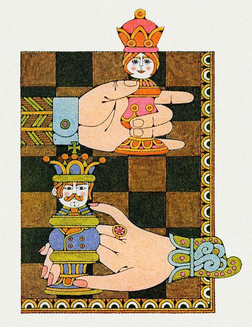 Illustration by Naiad Einsel, 1971 by MewDeep, via Flickr
