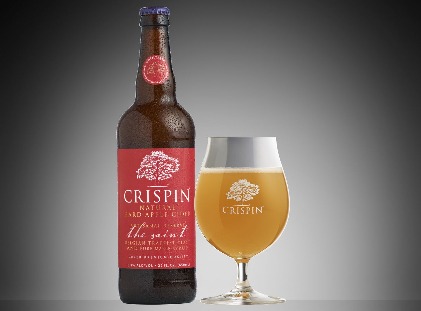 Crispin Artisanal Reserve The Saint Stunningly Fresh Apple With Maple Yeast Herbal Flavors Superb Perhaps My Favorit Crispin Cider Cider Hard Apple Cider