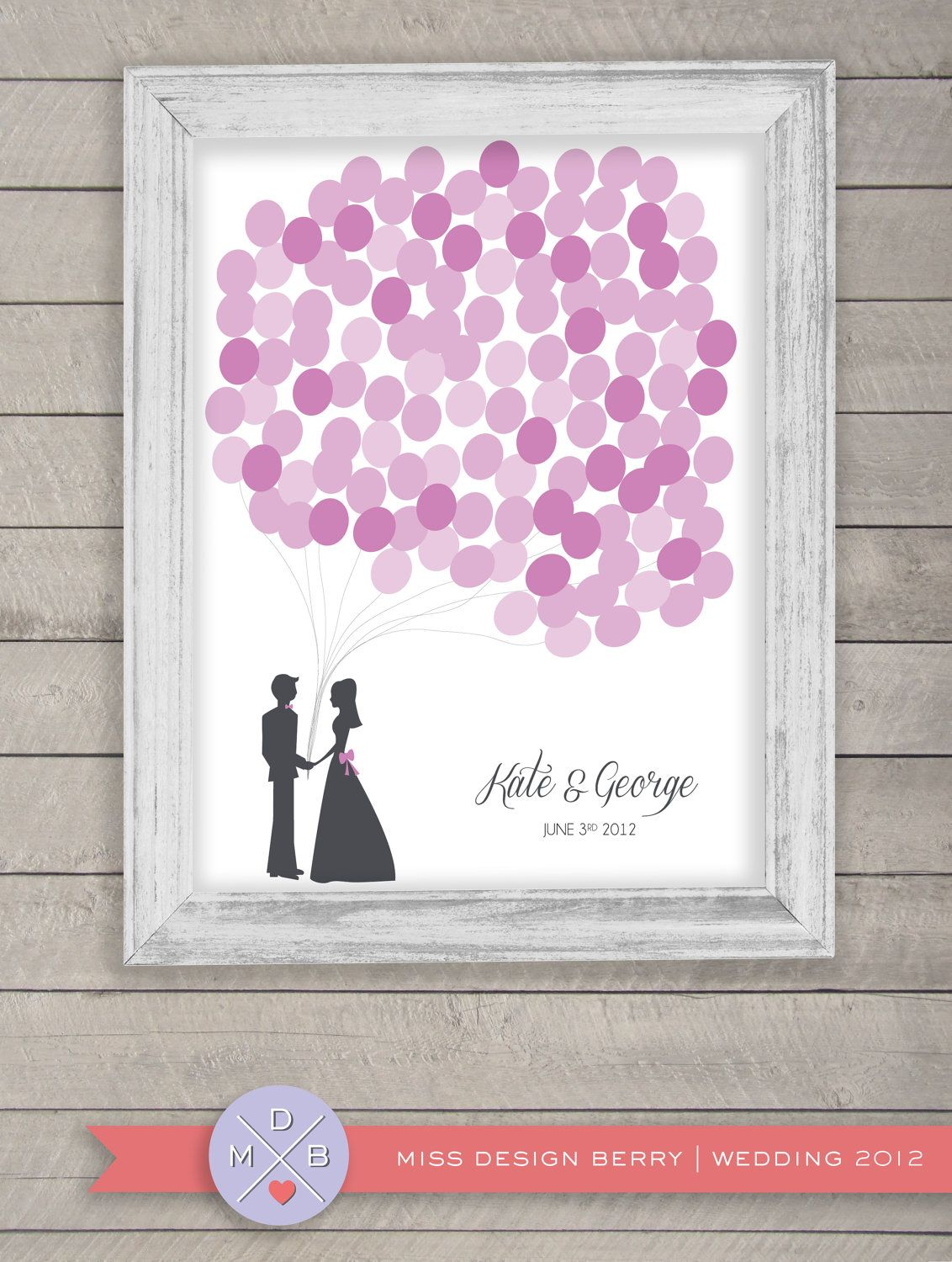 Wedding Table Wedding Sign In Book wedding guest book alternative balloons by missdesignberry what missdesignberry