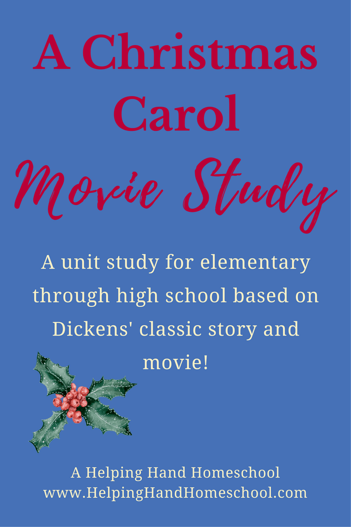 A Christmas Carol Unit Study | Christmas carol, The unit, Lesson planner