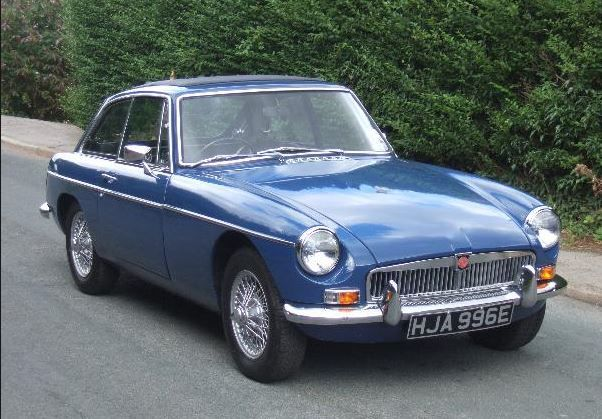 MGB GT 1967