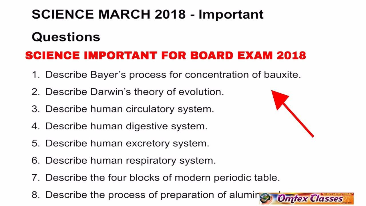 Science important march 2018 board paper ssc 10th standard omtex science important march 2018 board paper ssc 10th standard fandeluxe Image collections