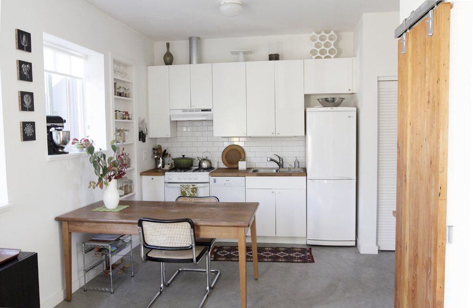 Converting Garage Into Kitchen naomi's single family home to a duplex: turning a garage into an