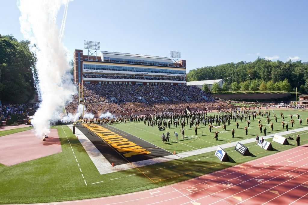 AppState football stadium Football stadiums, Appalachian