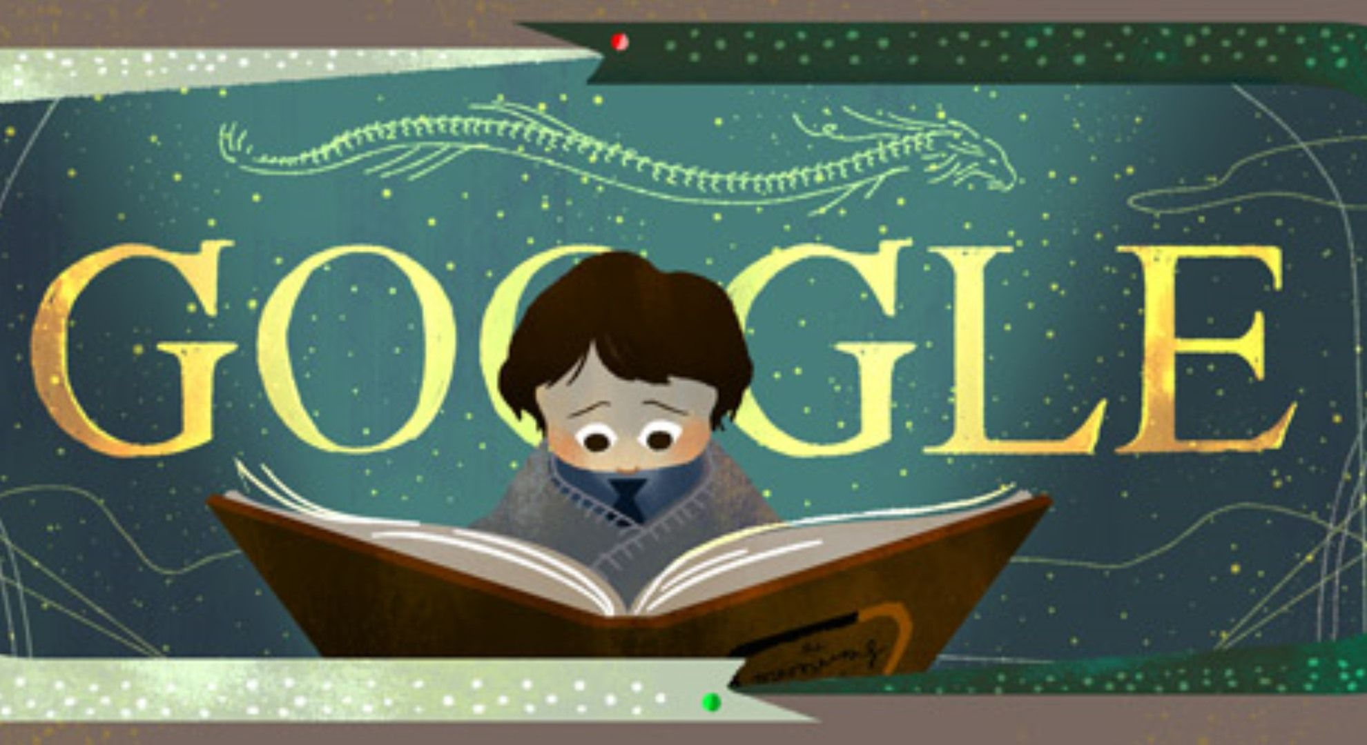 The Neverending Story book Google doodle marks 37th
