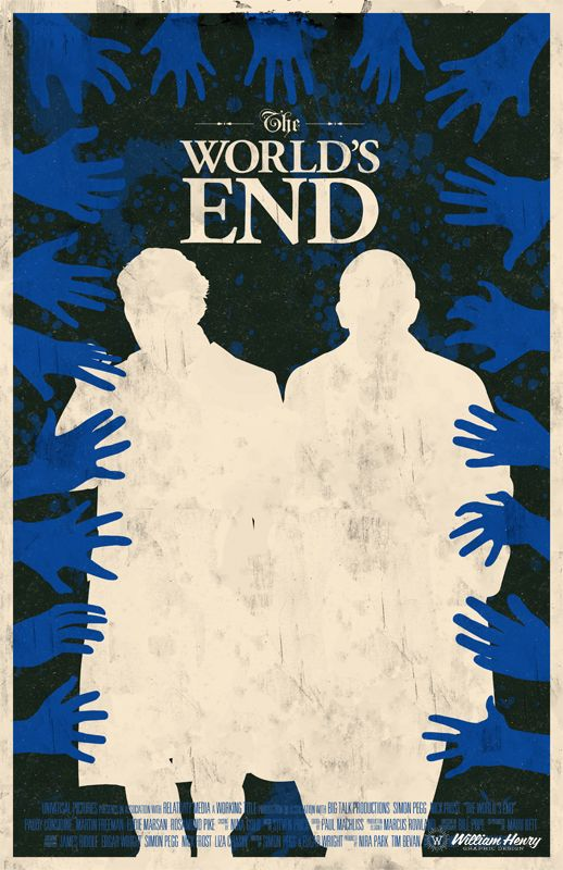 The World S End Movie Poster By Billpyle On Deviantart The World S End Movie Movie Posters Movie Posters Minimalist
