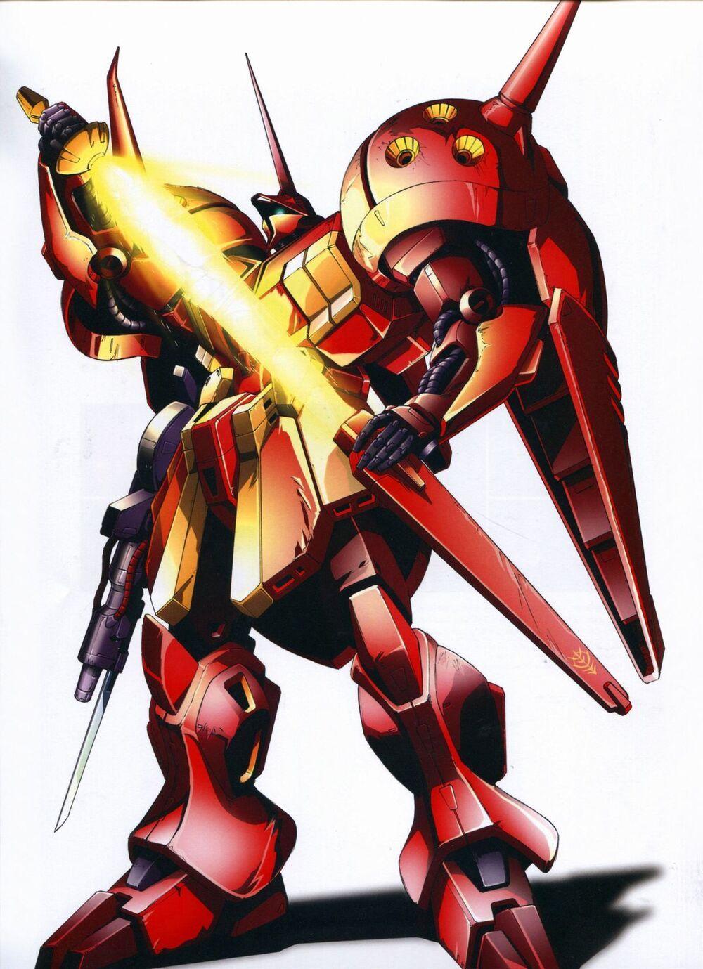 AMX104 RJarja Gundam, Zeta gundam, Mobile suit