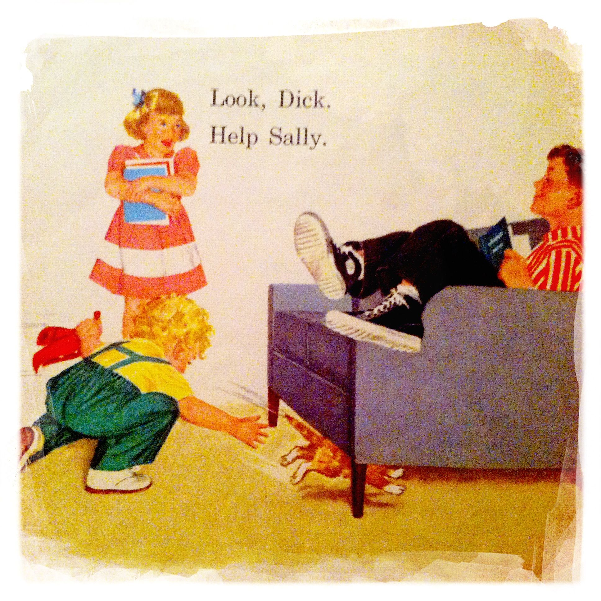 Growing Up With Dick And Jane 109