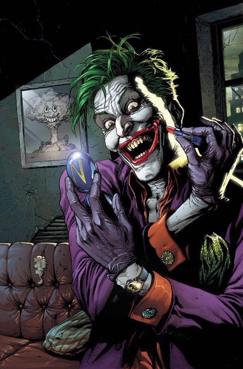 Pin By Bat Nerd On Dc Joker Artwork Joker Comic Joker Dc