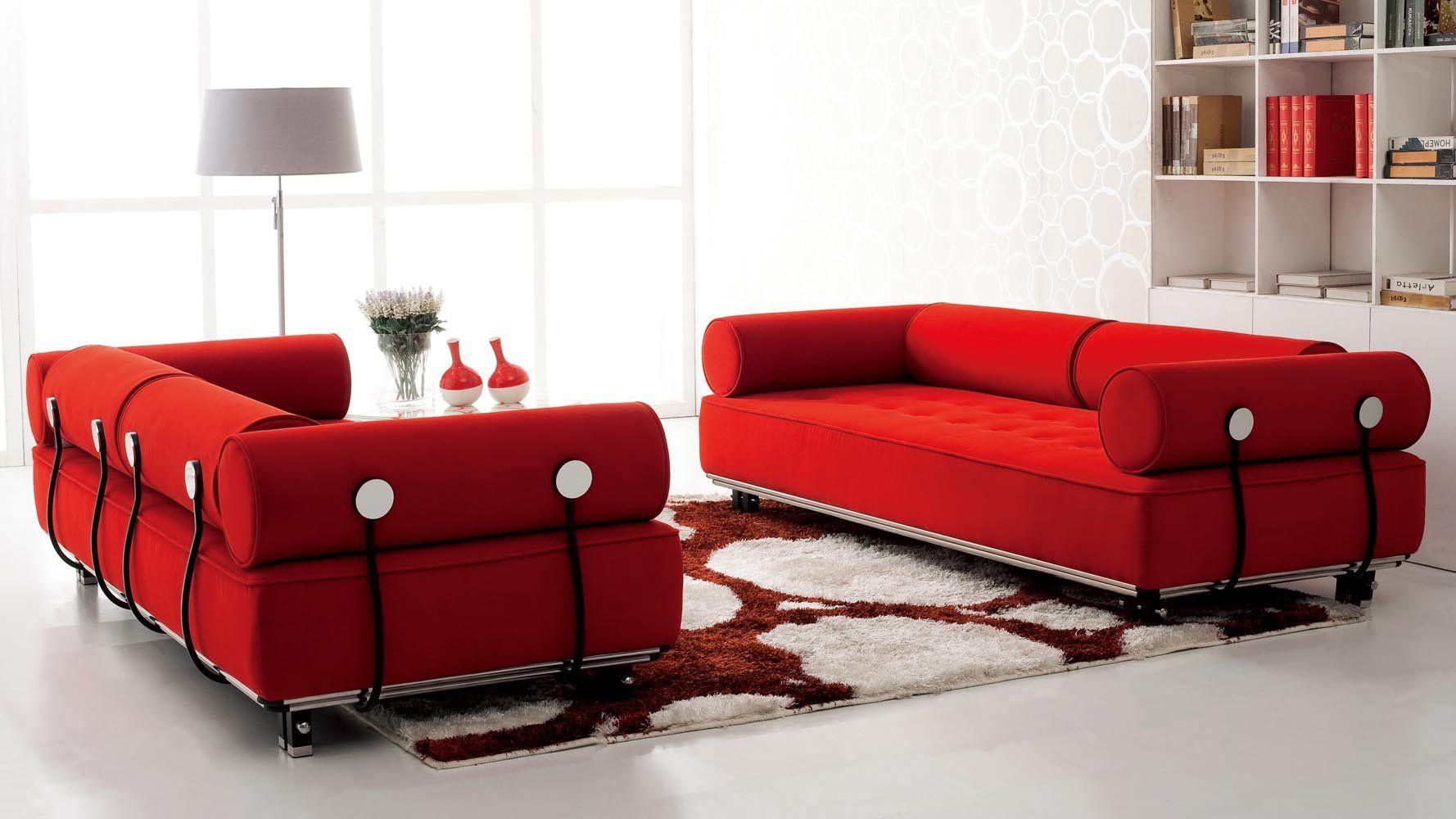 Amazing Carrera Modern Fabric Sofa Red Red Velvet Sofa Modern Fabric Sofa Contemporary Sofa Furniture