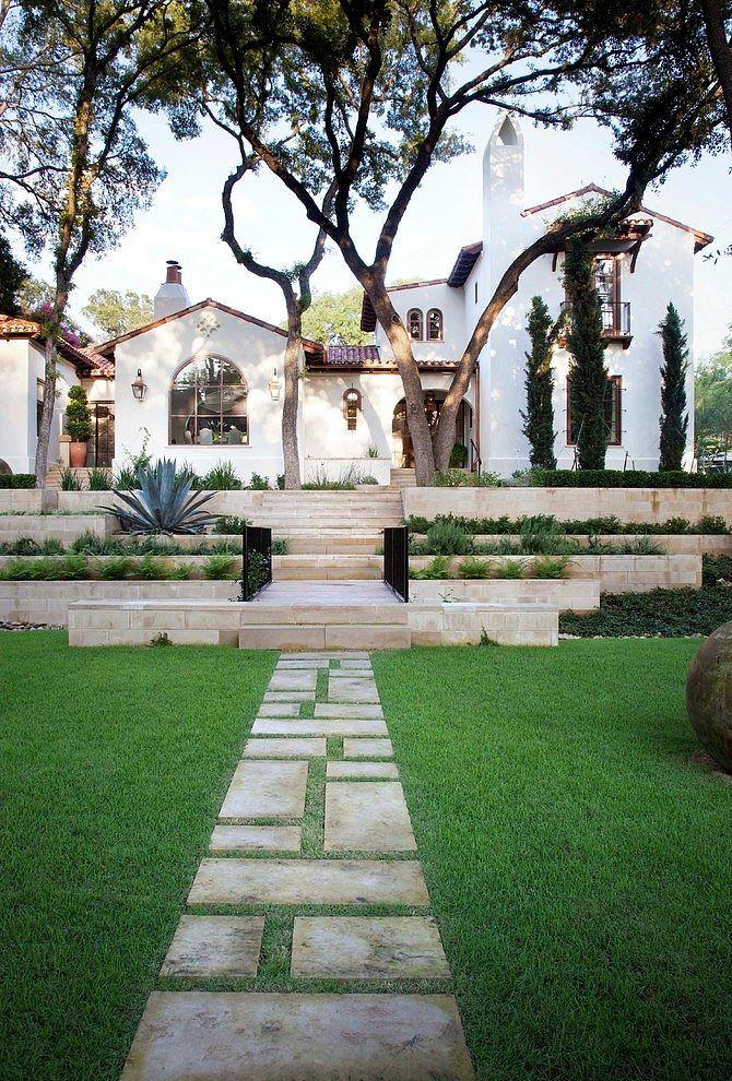 Роскошный, стильный дом в Техасе | PROdesign/ Exteriors ...