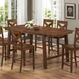 farmhouse counter height dining set - Farmhouse Counter Height Table