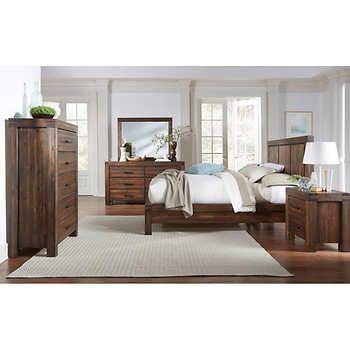 Mellina 6Piece Cal King Bedroom Set  Wish List  Pinterest Custom Cal King Bedroom Sets Inspiration Design