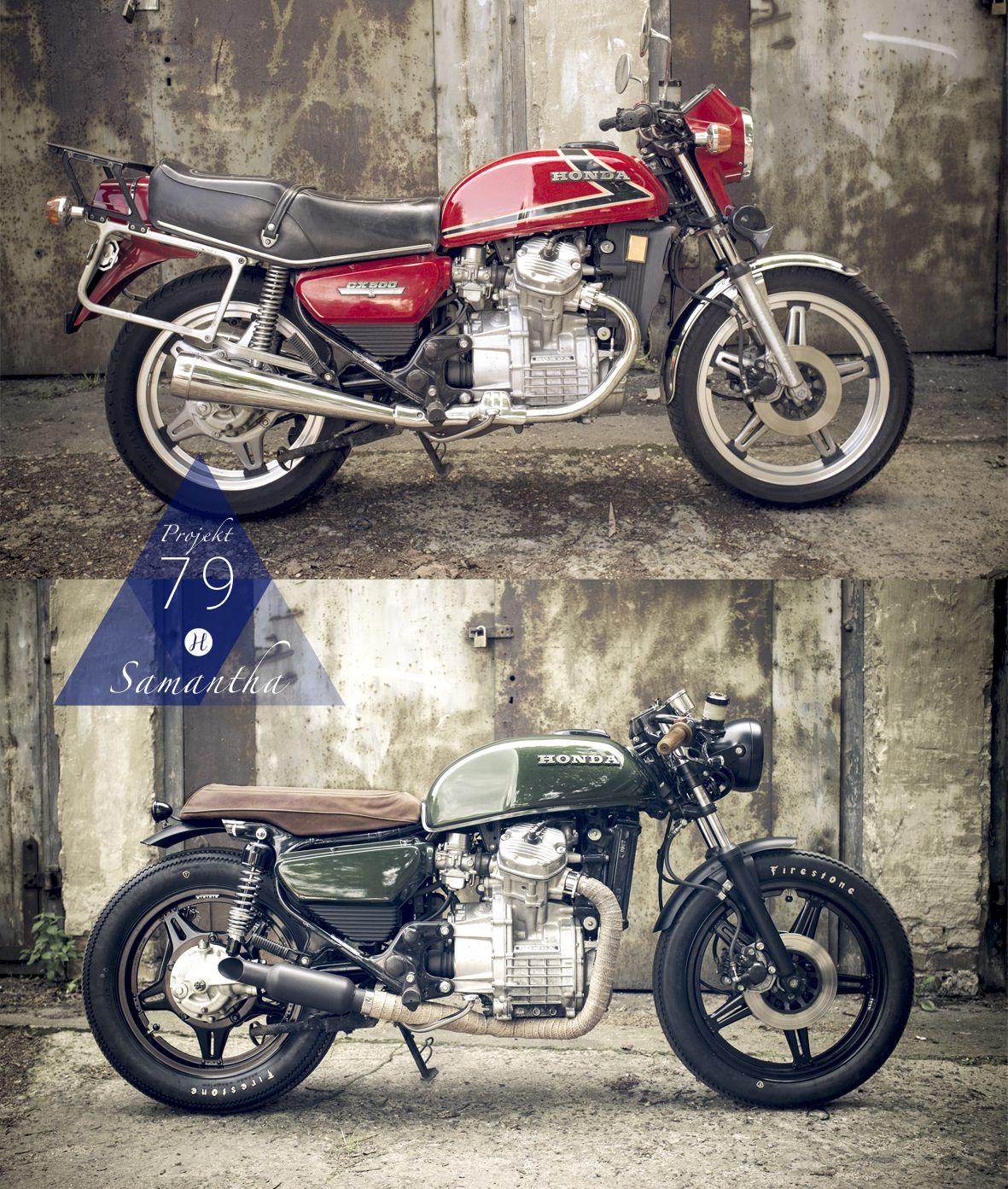 Honda Cx500 Cafe Exhaust: Cafe Racer Honda, Cafe Racer Bikes, Honda