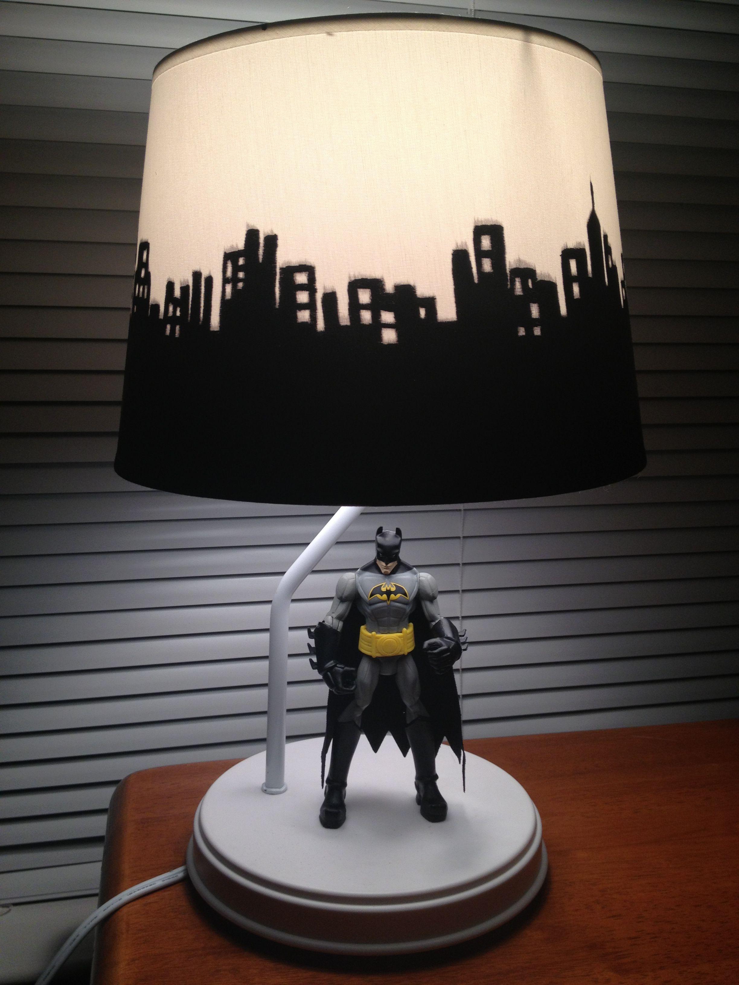 Batman Lamp | BATMAN in 2019 | Batman bedroom, Batman lamp, Batman ...
