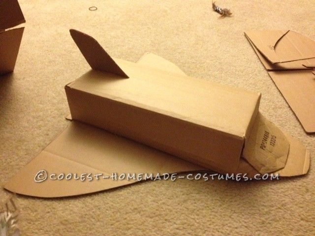 Homemade Space Shuttle - Pics about space