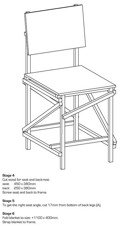 Tord Boontje. Rough and Ready. A chair for example can be
