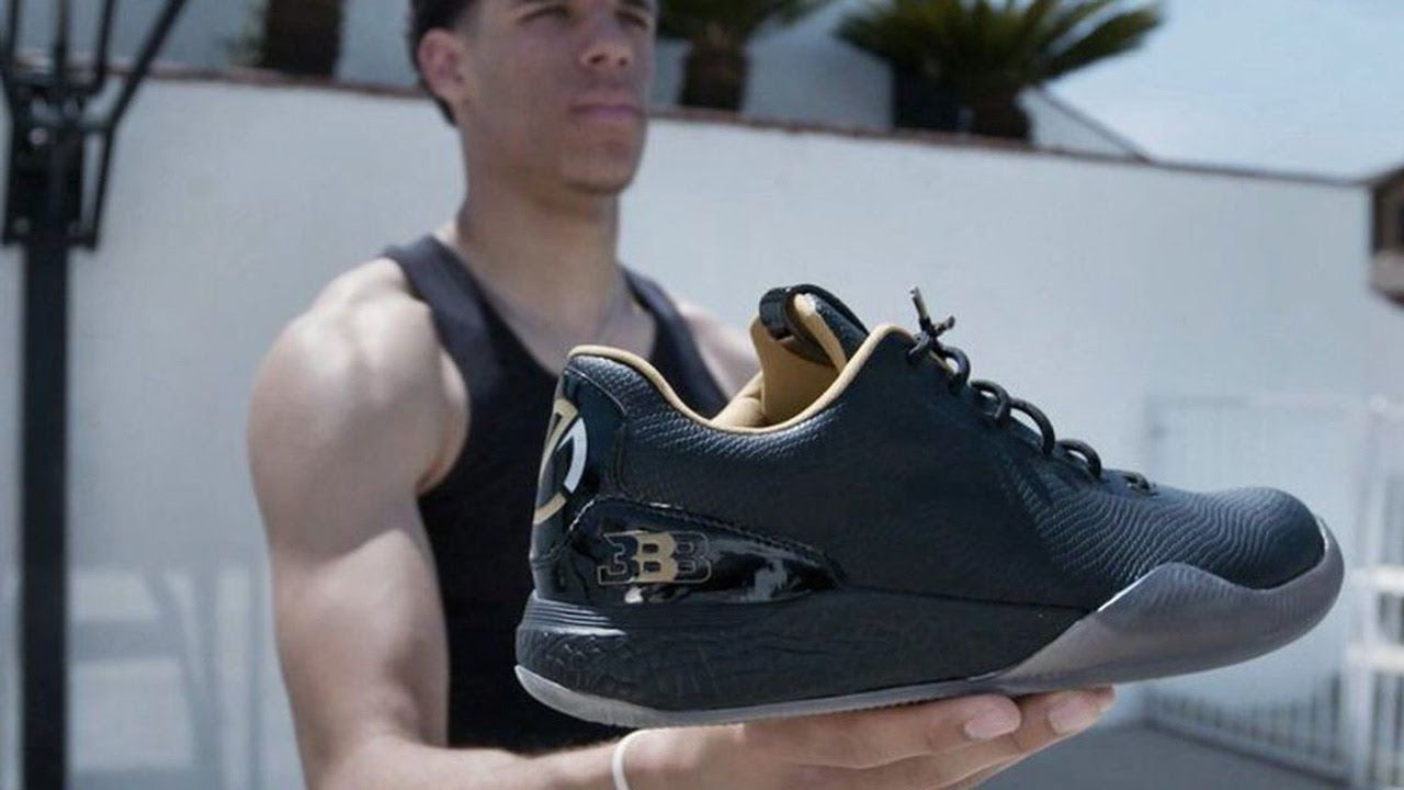 Lonzo Ball Reveals New 500 Signature Big Baller Brand Shoe