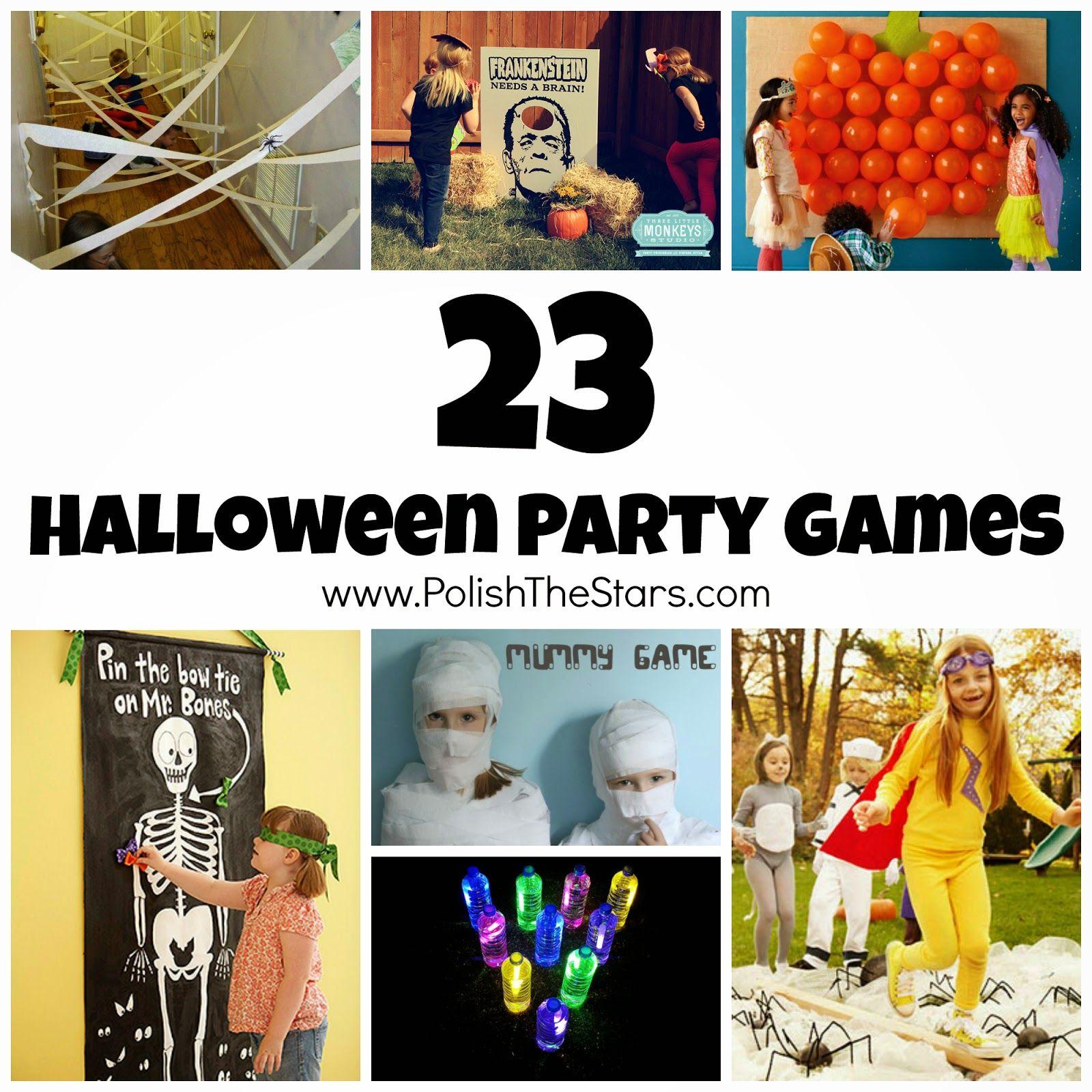 Polish The Stars: 23 Halloween Party Games | Halloween | Pinterest ...