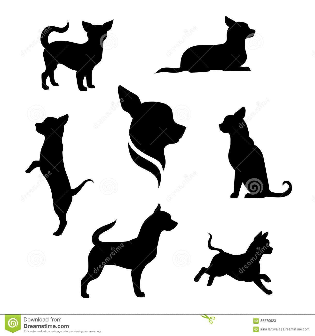 Small Dog Vector Google Search Tatuajes Pinterest 치와와