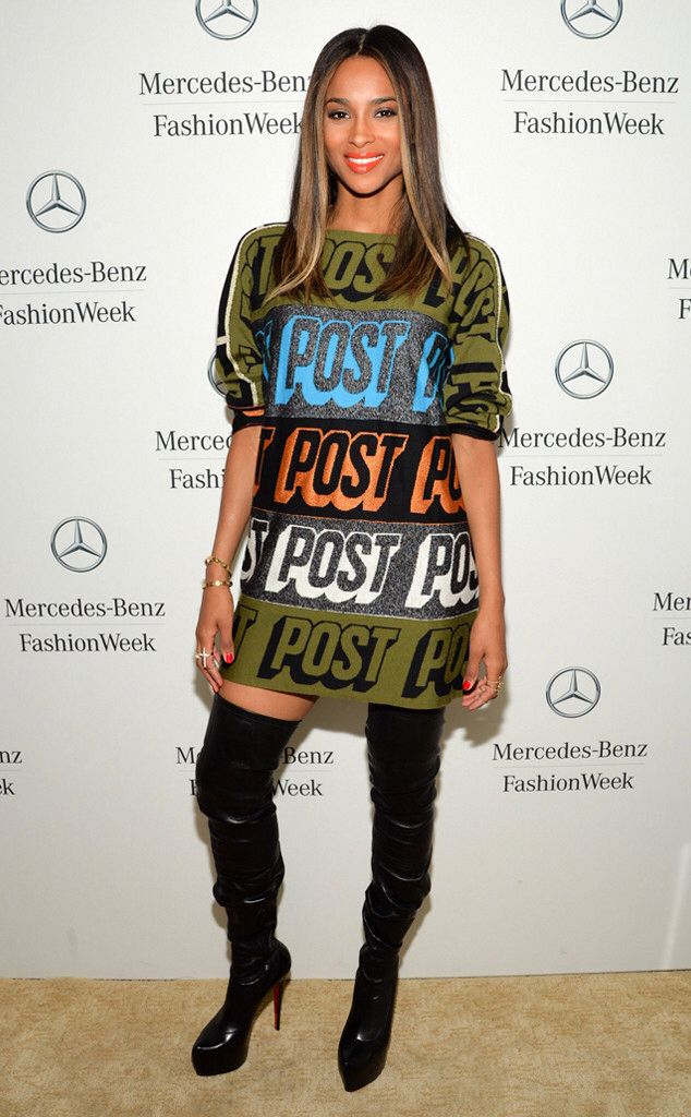 Ciara fashion police