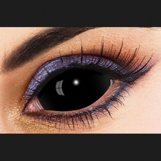 e69c4aed59 Buy Black SCLERA Contacts Lenses Online | Cheap Black Sclera Contacts |  Black Full eye Lenses