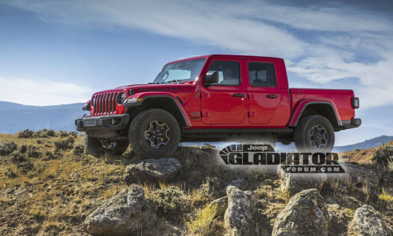 2020 Jeep Wrangler Pickup Truck Spy Shootcar Update 2020 Di 2020